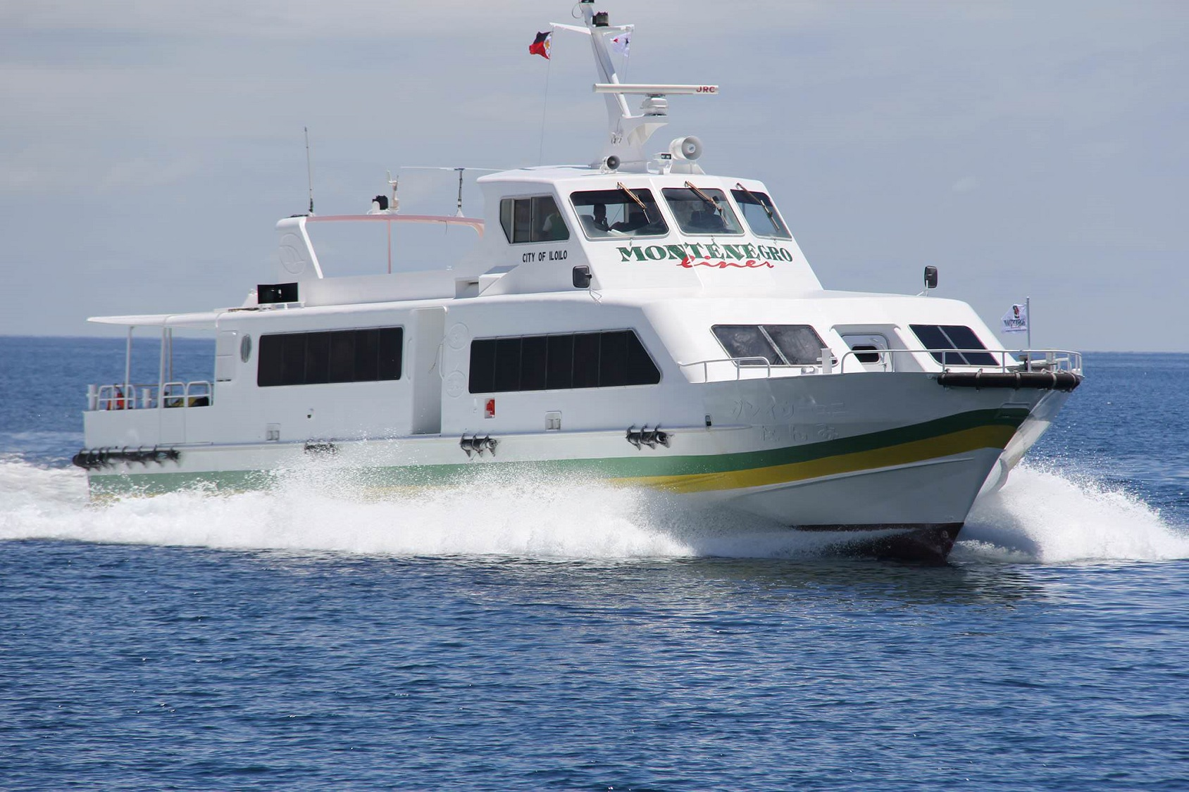 Fast Ferry Service between El Nido and Coron (Photo Credit: © Montenegro Shipping Lines)
